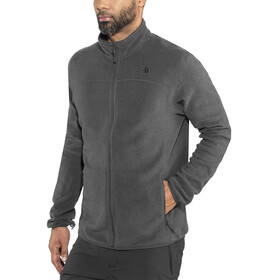 The North Face 100 Glacier Full Zip Jacket Men TNF Dark Grey Heather